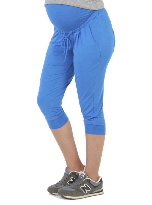 más popular super especiales fina artesanía Pantalón Deporte Premamá Baggy Crop Azul
