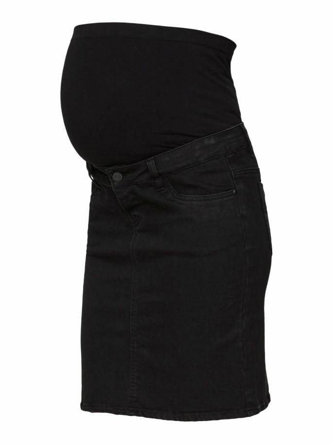 en venta nuevo estilo de 2019 en pies tiros de Falda Vaquera Premamá Lola Negra